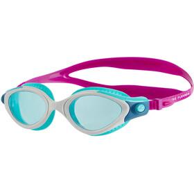 speedo Futura Biofuse Flexiseal Goggles Dames, diva/white/peppermint